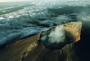 Kawah Gunung Bromo Puncak Gunung Di Jawa Timur