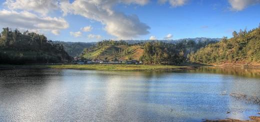 Ranu Pane Danau Di Kaki Gunung Semeru