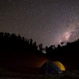 Milky Way Di Ranu Kumbolo Semeru Mahameru