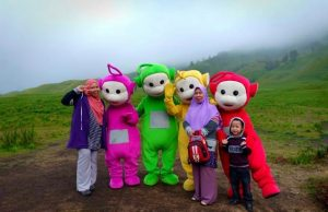Bukit Teletubbies, Padang Rumput Yang Luas di Gunung Bromo