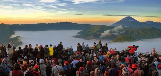 Penanjakan Bromo, Tempat Melihat Sunrise Di Bromo