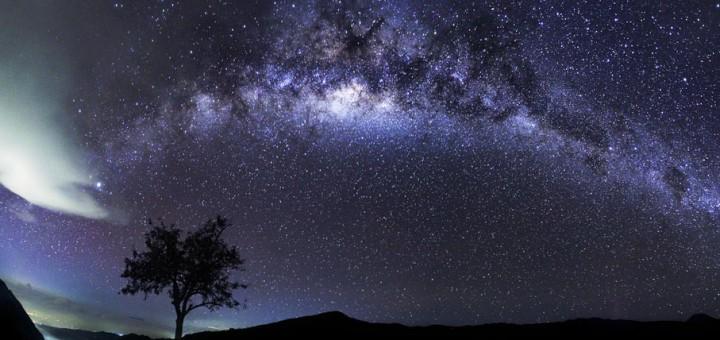 Fenomena Alam Milky Way Semeru Mahameru